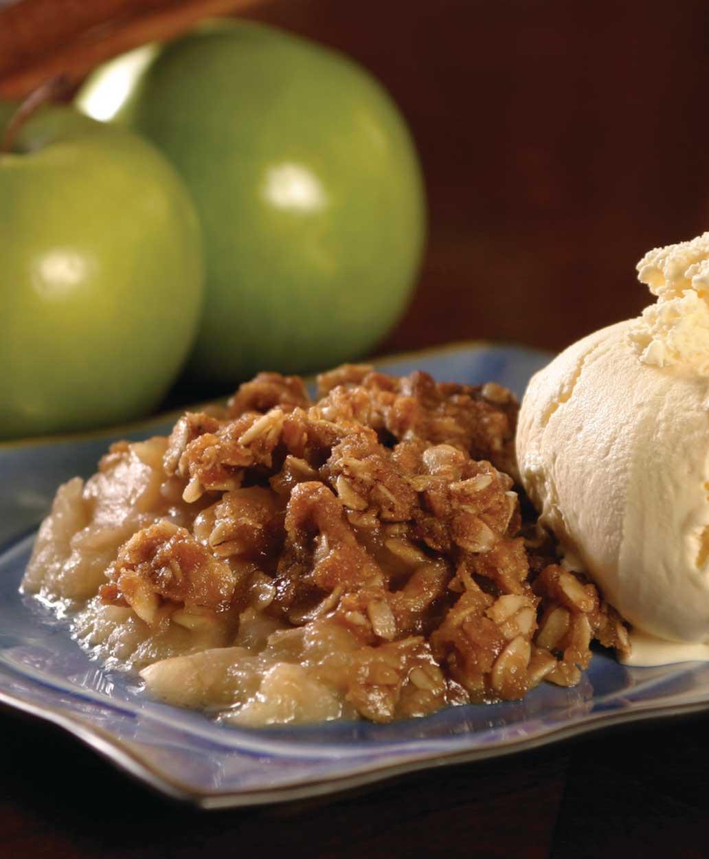 Apple-Oatmeal Crisp