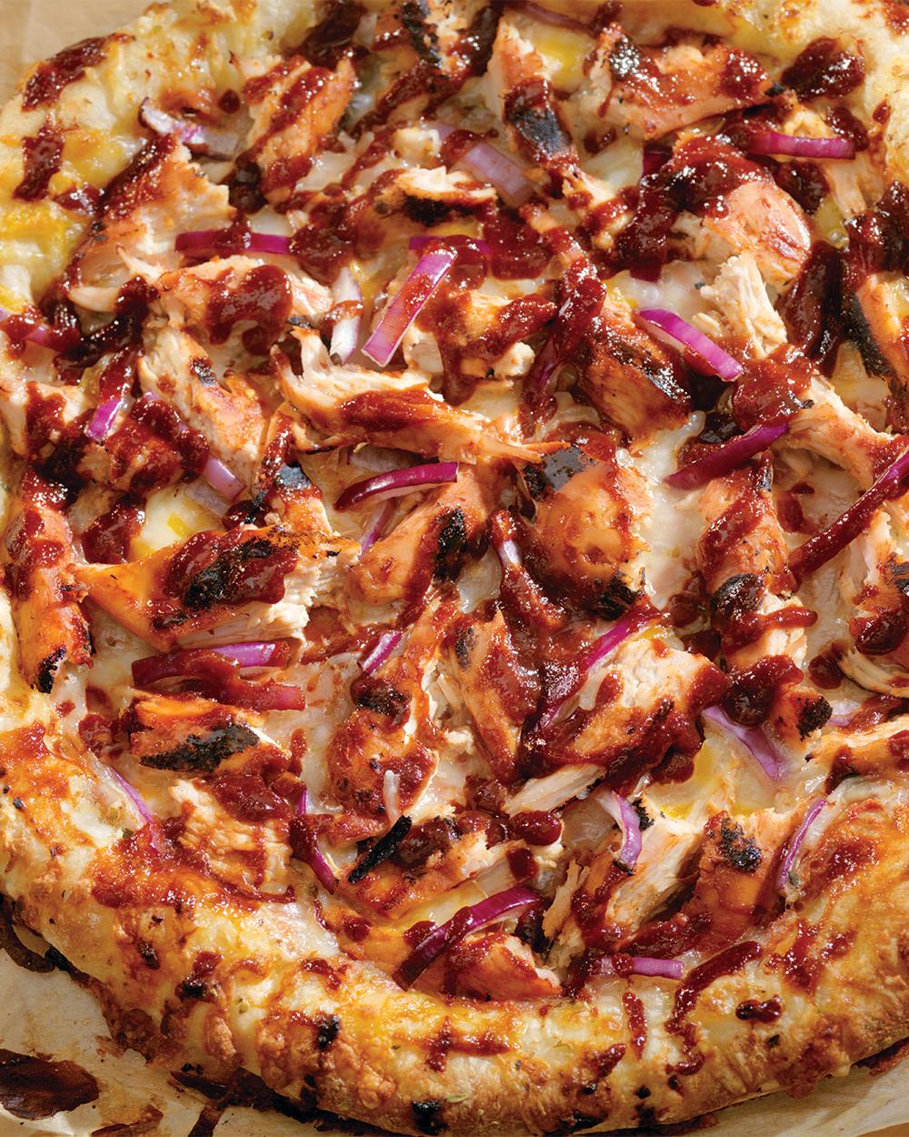 Honey-Hot Buffalo Chicken Pizza