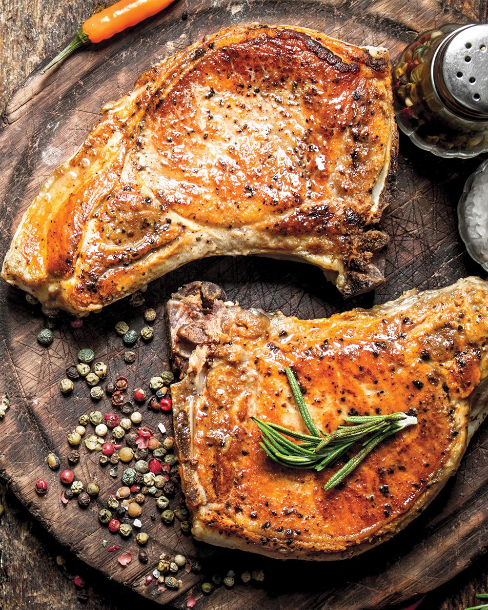 Buttermilk Pork Chops