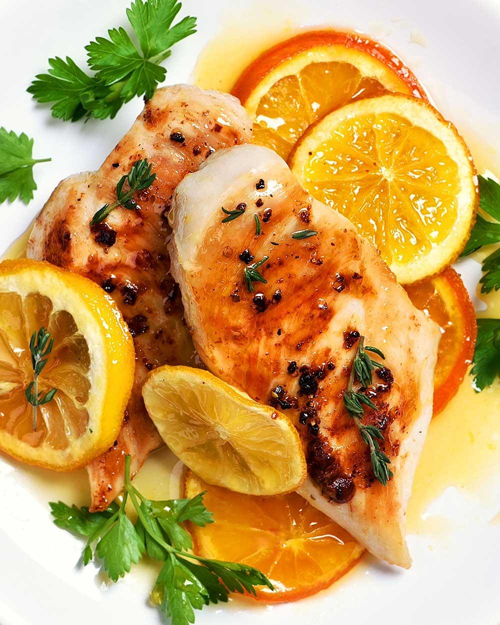 Citrus Marinated Chicken Breasts