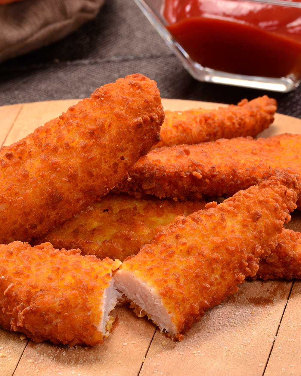 Gluten Free Crusted Chicken Fingers