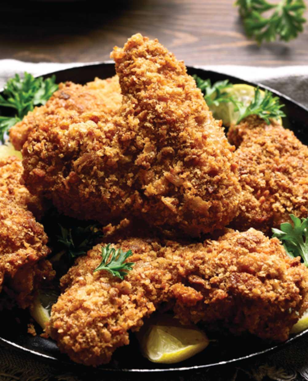 Cornflake-Parmesan Chicken Strips