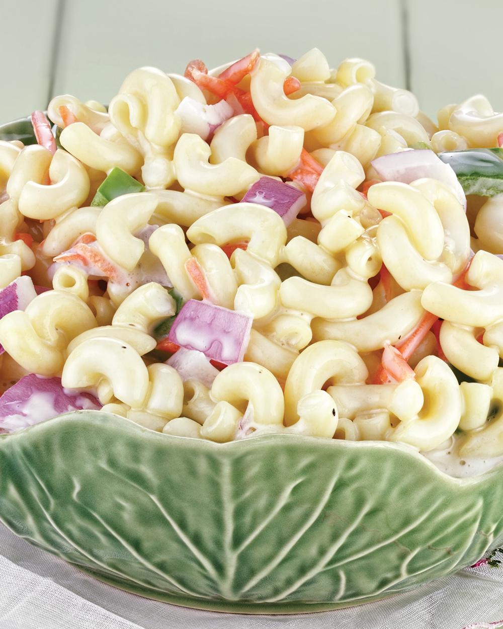 Creamy Greek Yogurt Macaroni Salad