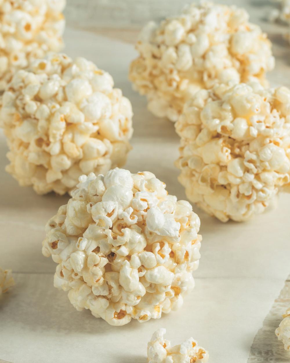 Delicious Homemade Popcorn Balls