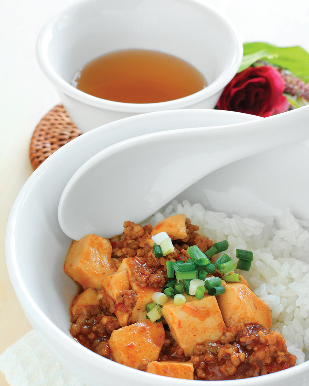 Hot and Sweet Tofu with Rice
