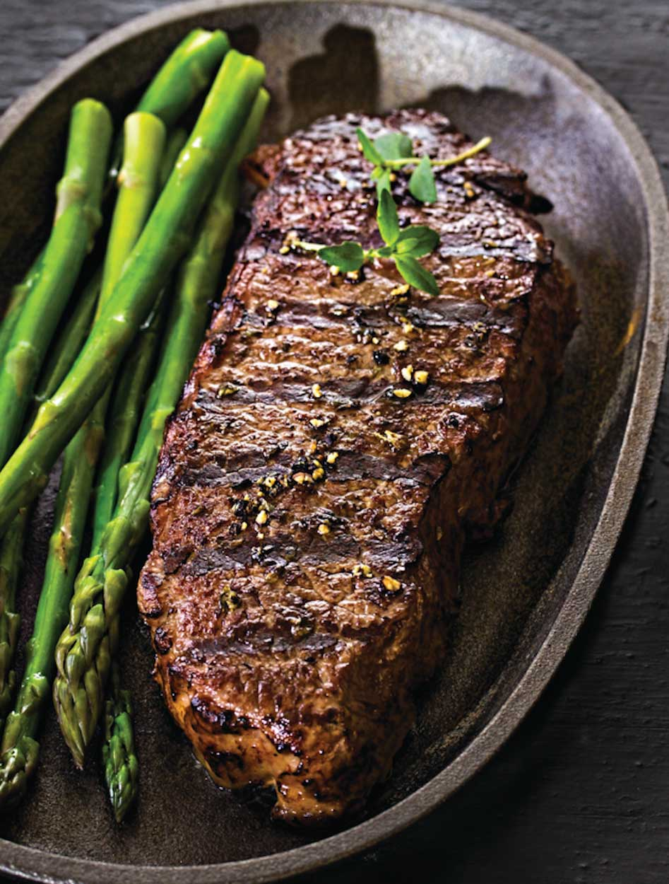 Marinated and GrilledSirloin Steaks
