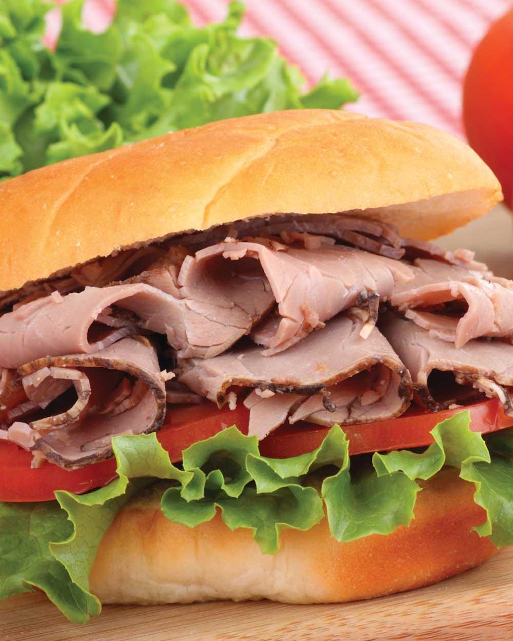 Baked Beef Roast Sandwich
