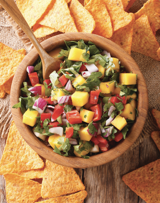 Pineapple and Bell Pepper Salsa