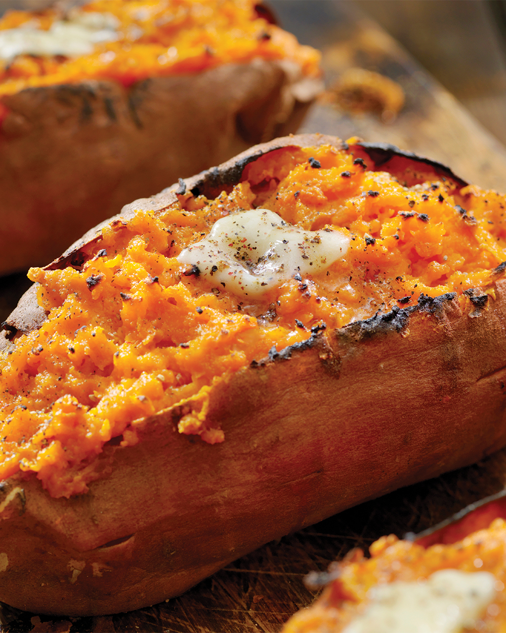 Paleo Twice Baked Breakfast Sweet Potatoes